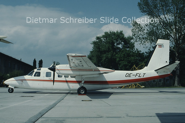OE-FLT Rockwell Aero Commander 685 (c/n 12027) Berimex Air Service
