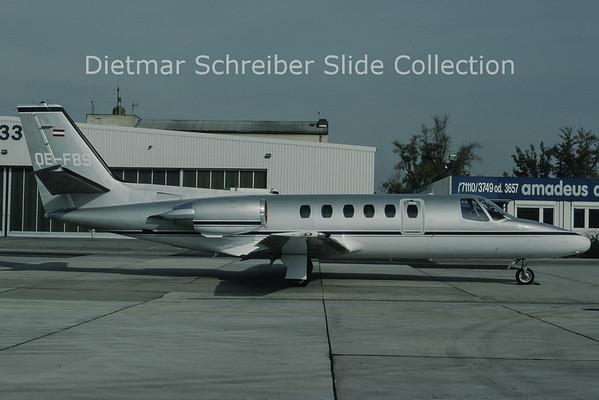 OE-FBS Cessna 550 Citation 2