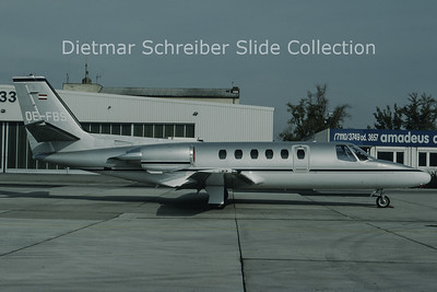 OE-FBS Cessna 551 Citation 2 (c/n 551-0574) Airlink