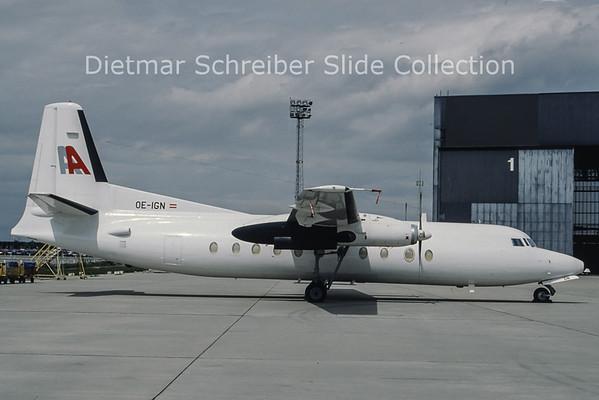 OE-IGN Fokker 27 Alpenair