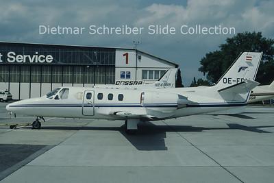OE-FDM Cessna 501 Citation 1 (c/n 501-0140) Goldeckflug