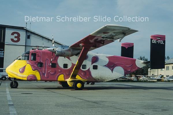 OE-FDL Shorts SC7 Skyvan (c/n SH.1904) Pink Aviation Service