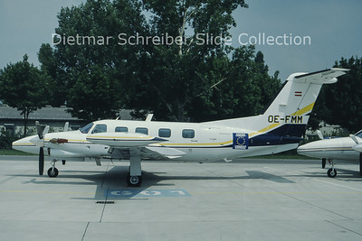 OE-FMM Piper 42-720 (c/n 42-5501030) Steirische Motorflugunion