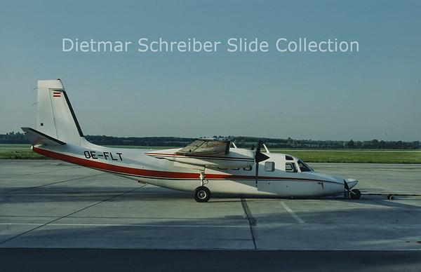 OE-FLT Rockwell Commander Berimex Air Service