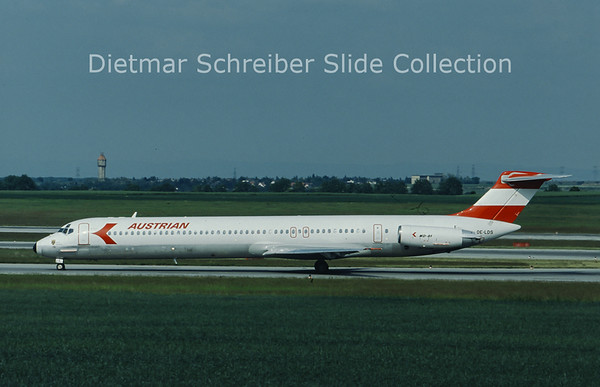 OE-LDS MDD MD81 (c/n 48017) Austrian Airlines