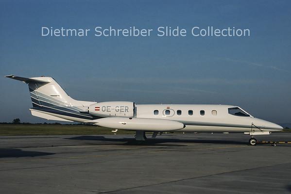 OE-GER Learjet 35 Jetair