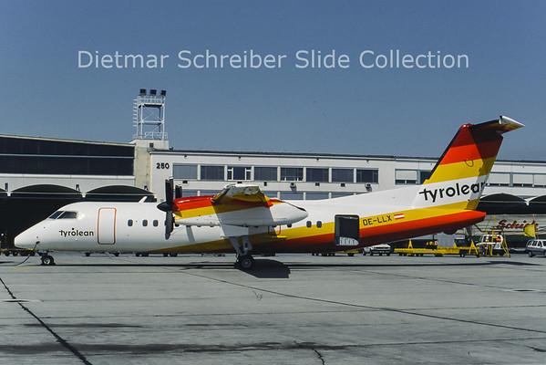 OE-LLX Bombardier Dash 8-311A (c/n 323) Tyrolean Airways