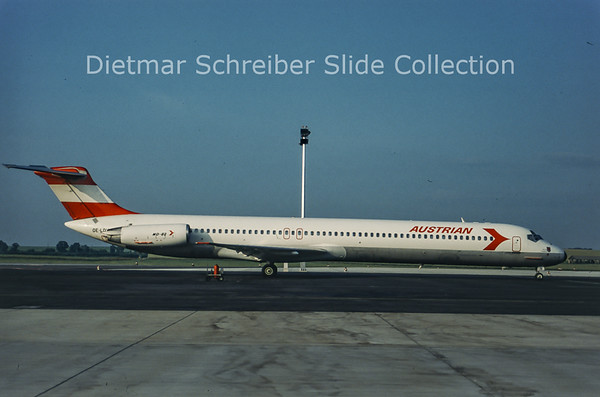 OE-LDY MDD MD81 (c/n 49115) Austrian Airlines