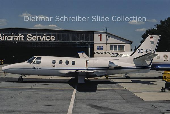 OE-FYC Cessna 501 Citation 1 (c/n 501-0207) Almeta