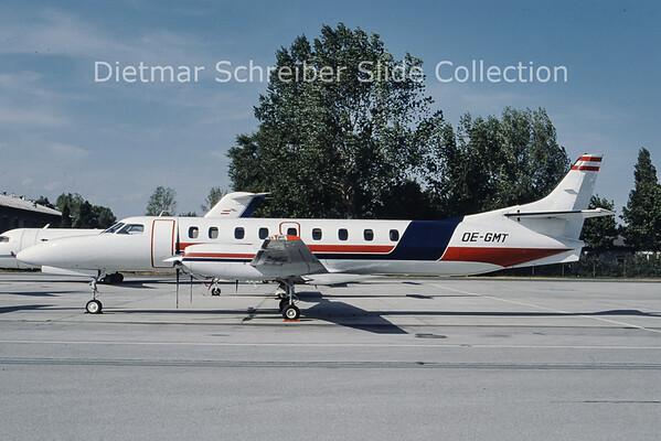OE-GMT Swearingen Metro Salzburg Airlines
