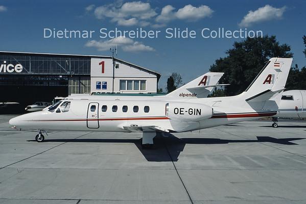 OE-GIN Cessna 550 Citation 2 Alpenair