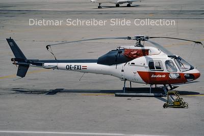 OE-FXI Aerospatiale AS355F1 (c/n 5305) Lauda Air