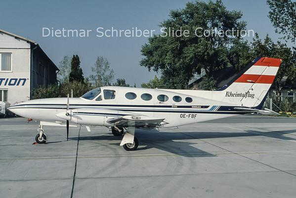 OE-FBF Cessna 414A (c/n 414A-0415) Rheintalflug