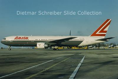 1994-01 OE-LAW Boeing 767-3Z9ER (c/n 26417) Lauda Air