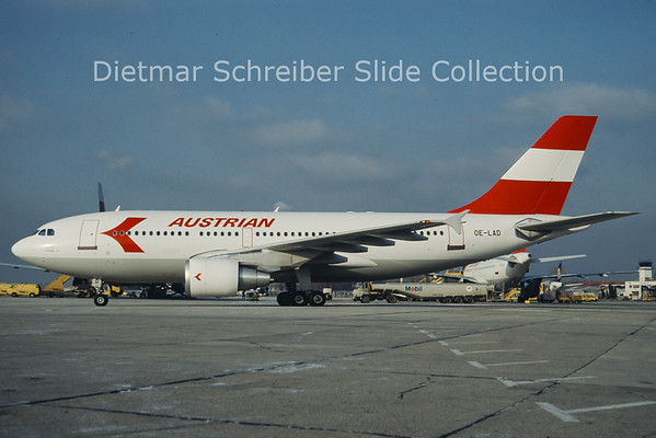 OE-LAD Airbus A310 Austrian Airlines