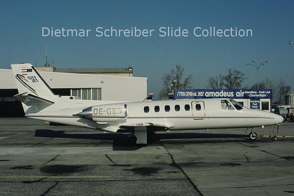OE-GES Cessna 550 Citation 2 (c/n 550-0422) City Jet
