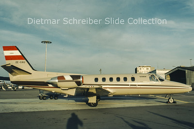 1980-09 OE-GAU Cessna 550 Citation 2 Tyrolean Airways