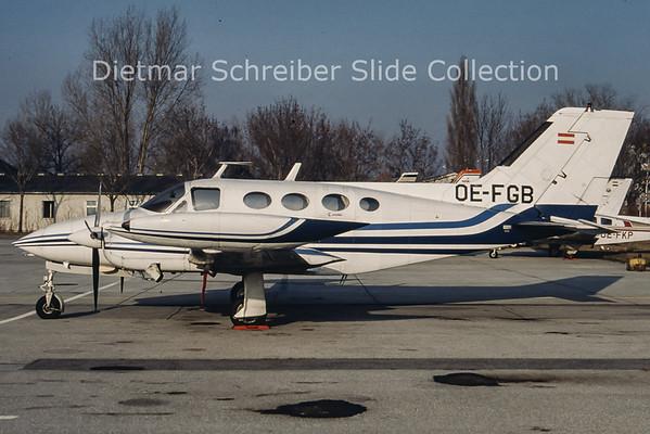 OE-FGB Cessna 421 LFU - Leonhartsberger Flug Unternehmen