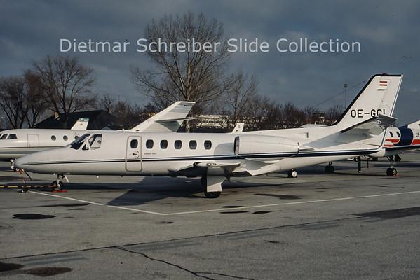 OE-GCI Cessna 550 Citation 2 (c/n 550-0041) Viennair Polsterer Jets