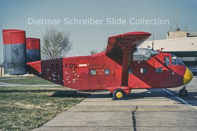 OE-FDL Shorts SC7 Skyvan Burli Air
