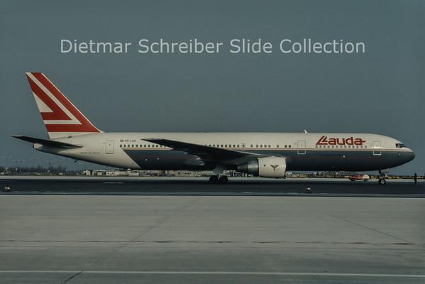 1992-12 OE-LAU Boeing 767-3Z9ER (c/n 23765) Lauda Air