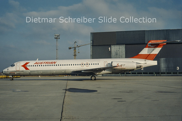 OE-LMO MDD MD87 Austrian Airlines