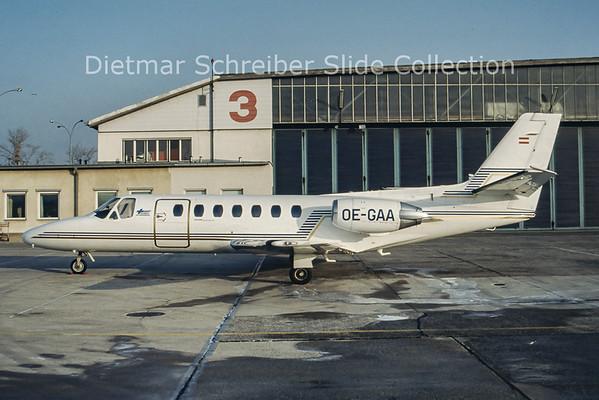 OE-GAA Cessna 560 Citation 5 Tyrolean Jet Service