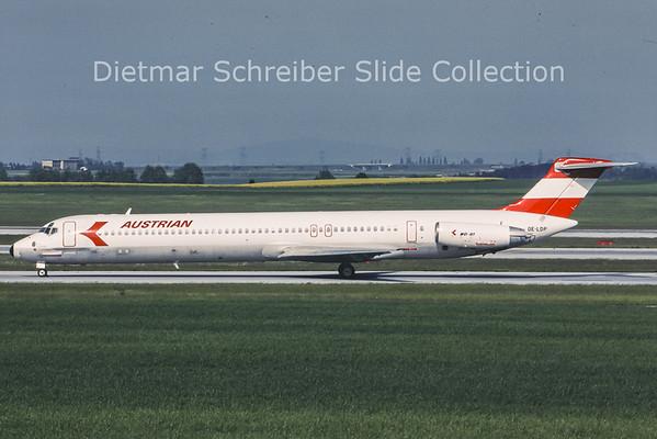 OE-LDP MDD MD80 Austrian Airlines