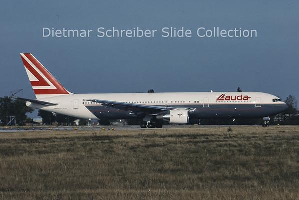 OE-LAV Boeing 767-3Z9ER (c/n 24628) Lauda Air