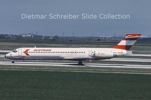 OE-LMN MDD MD87 Austrian Airlines