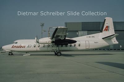 OE-IPN Fokker 27 Amadeus Air