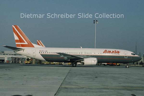 OE-LNI Boeing 737-400 Lauda Air