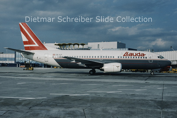 1993-10 OE-ILF Boeing 737-3Z9 (c/n 23601) Lauda Air