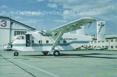 OE-FDI Shorts SC7 Skyvan (c/n SH.1869) Pink Aviation Service