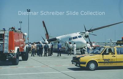 OE-LFC Fokker F50 (c/n 20143) Austrian Air Service; Austrian Airlines