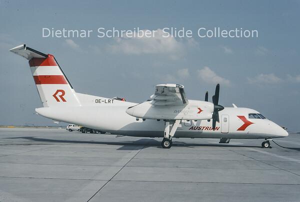 1993-07 OE-LRT Bombardier Dash 8-103 (c/n 273) Rheintalflug
