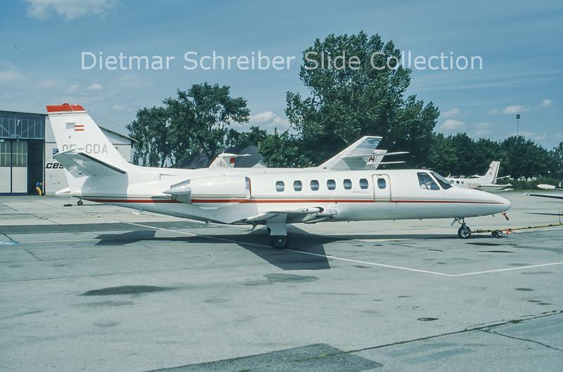 OE-GDA Cessna 560 Citation 5 Viennair Polsterer Jets