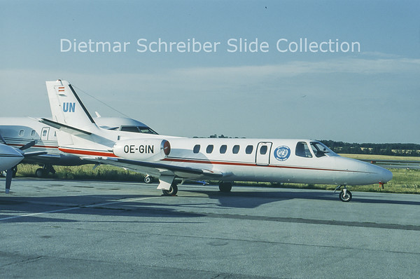 OE-GIN Cessna 550 Citation 2 (c/n 550-0069) Amadeus Air