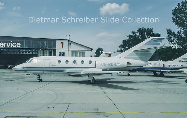 OE-GDR Dassault Falcon 20D (c/n 203) Viennair Polsterer Jets