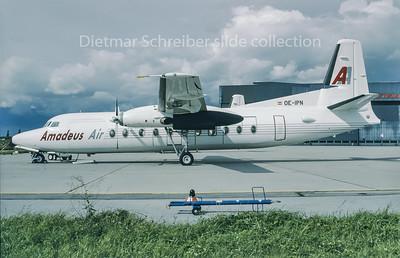 1993-09 OE-IPN Fokker 27 Amadeus Air