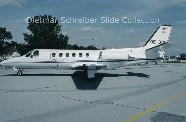 1993-09 OE-GCH Cessna 550 Citation 2 Viennair Polsterer Jets