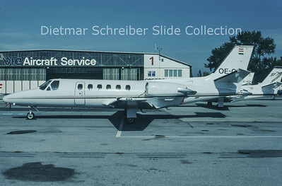 1993-11 OE-GIL Cessna 550 Citation 2 Air Rent