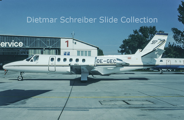 1993-11 OE-GEC Cessna 550 Citation 2 City Jet