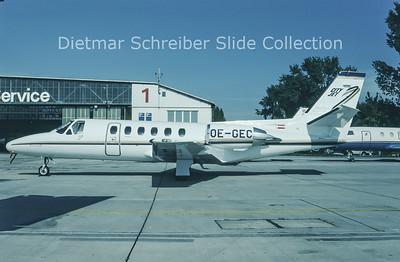 1993-11 OE-GEC Cessna 550 Citation 2 City Jet
