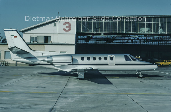 1993-11 OE-GPA Cessna 560 Citation 5 Porsche Austria