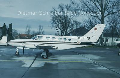 1993-12 OE-FPU Cessna 414 Punitz Flugbetrieb