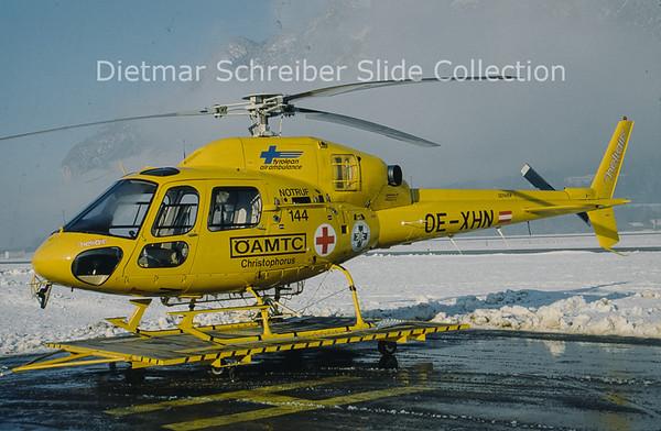OE-XHN Aerospatiale AS350B2 (c/n 5546) Heli Air