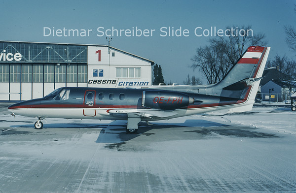 1994-02 OE-FPH Cessna 500 Citation 1 Tyrolean Jet Service