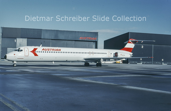 1994-01 OE-LDY MDD MD80 Austrian Airlines
