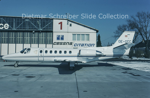 1994-02 OE-GCC Cessna 560 Citation 5 Goldeckflug